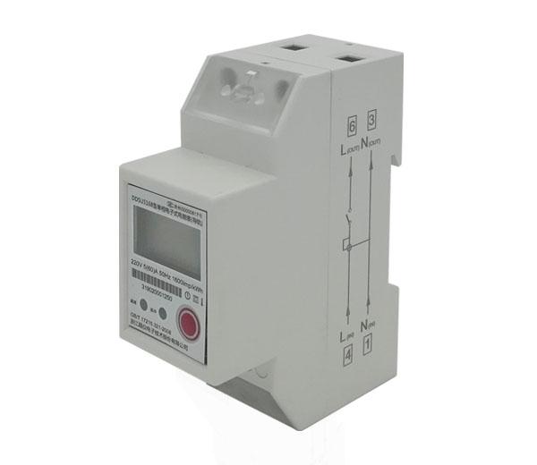 单相导轨式无线远传电表, DDSU5168